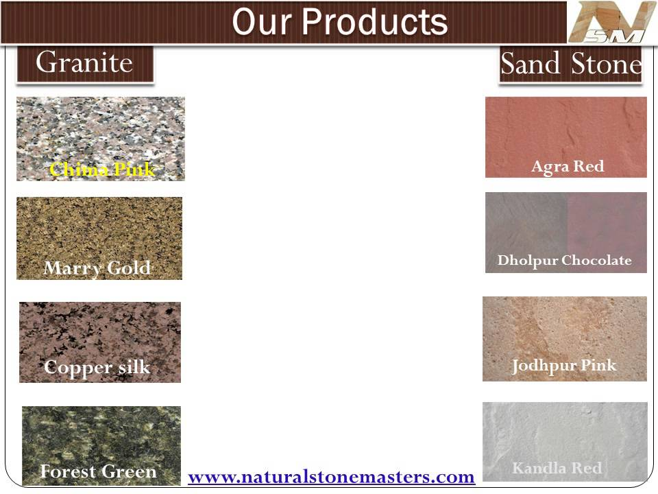 Types of natural stones - YouTube