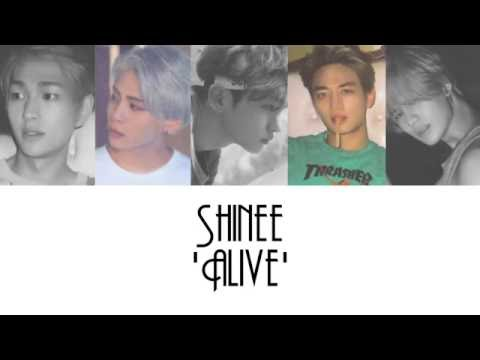 SHINee (샤이니) - 'Alive' [HAN/ROM/ENG] + Colour Coded