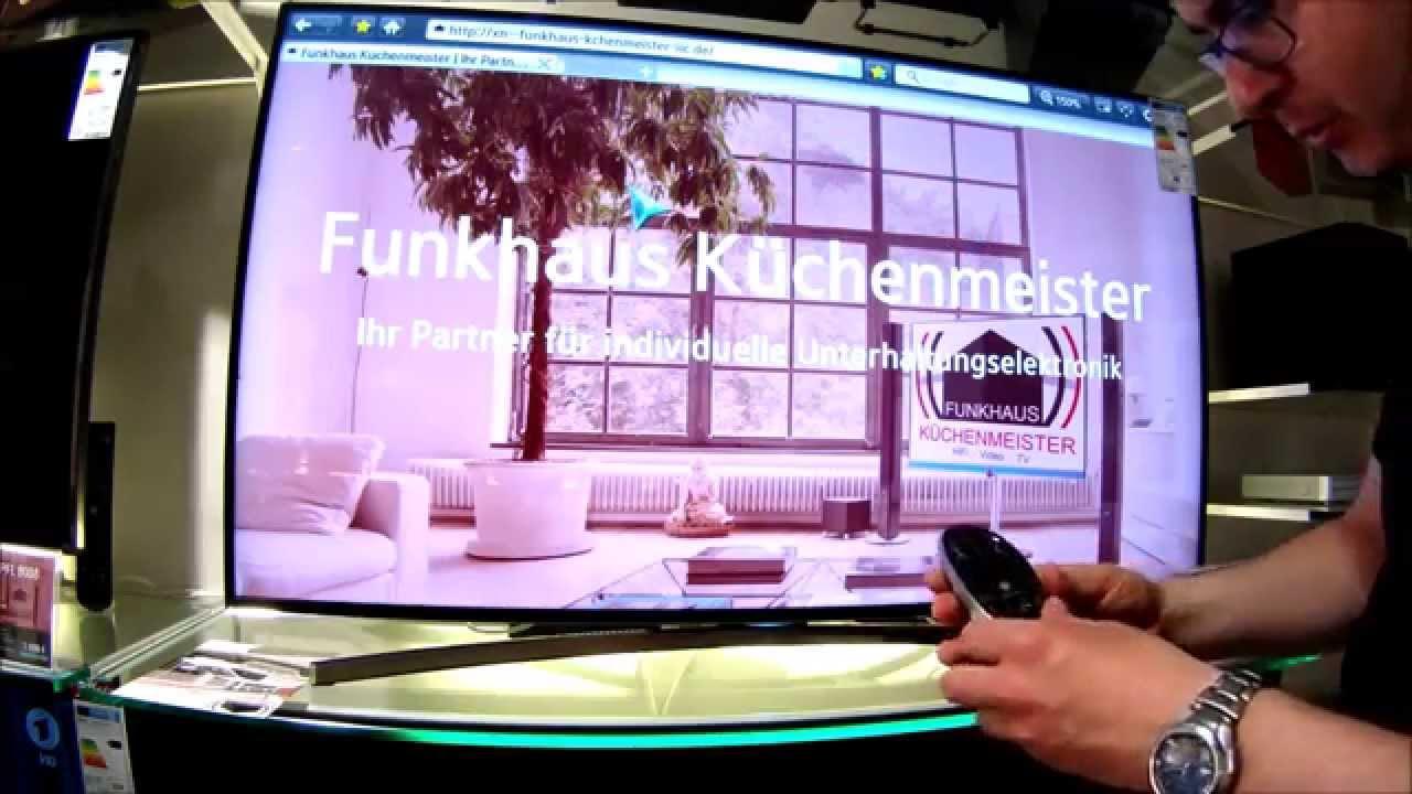 Samsung UE 48 H 8090 Menü & Smart Funktionen