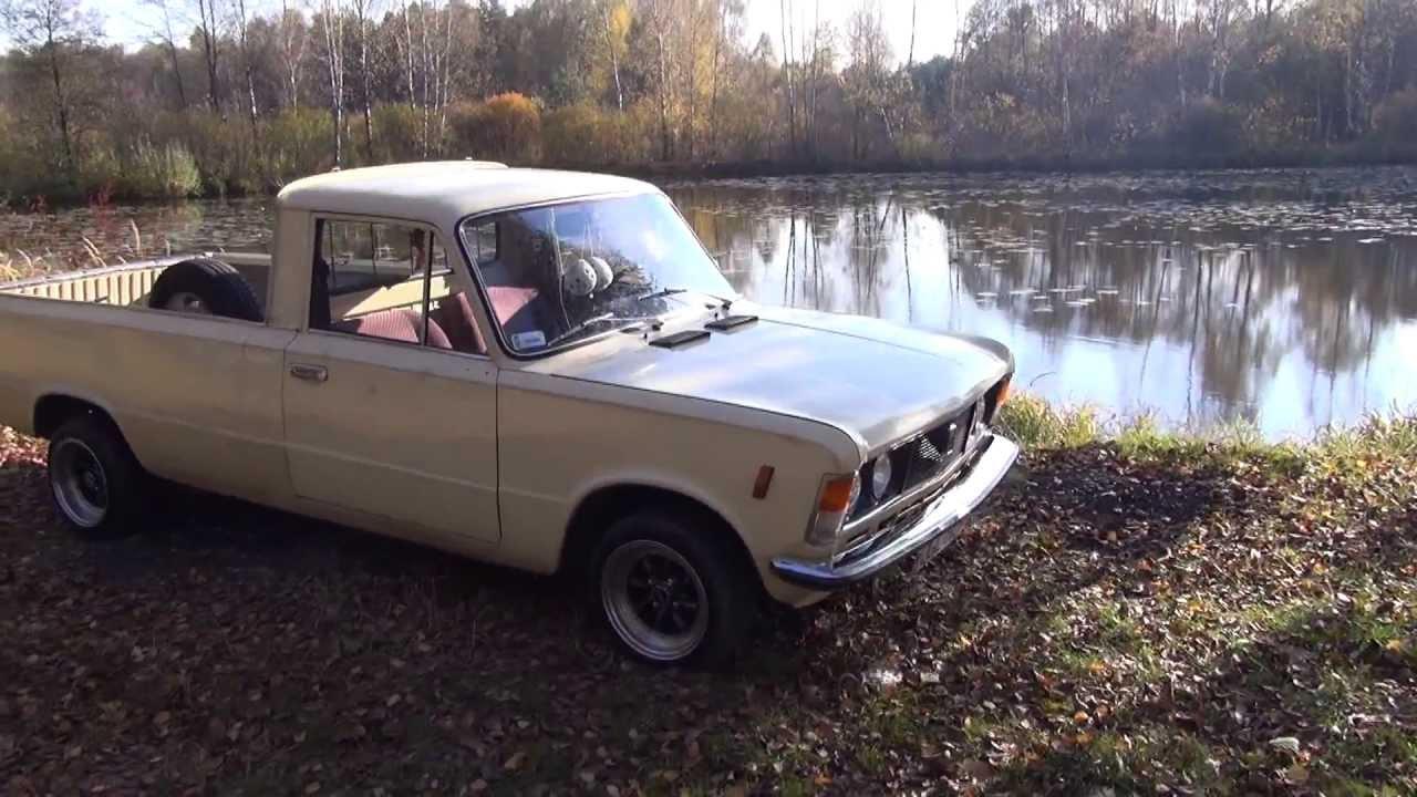 Niesamowite Vom Polski Fiat 125p zum FSO 125p Pickup (1972 – 1991) - Pick-up KT69
