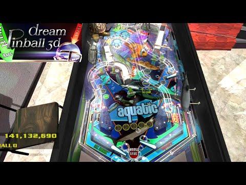 Playing Dream Pinball 3d : Aquatic Table (PC) |