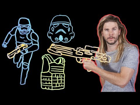 Why Do Stormtroopers Even Wear Armor? (Because Science w/ Kyle Hill)