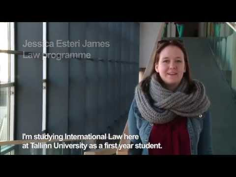 Jessica from Finland tells her story about her studies at Tallinn University (Law programme)