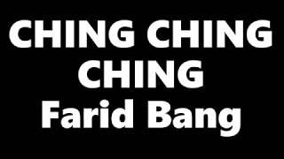 Farid Bang - CHING CHING CHING (Lyrics)