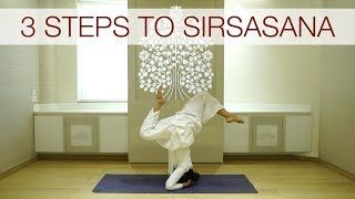 3 Steps to Sirsasana