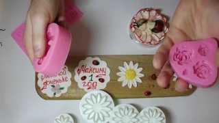 Плунжеры, молды, резаки, инструменты для мастичных тортов с АлиЭкспресс краткий обзор