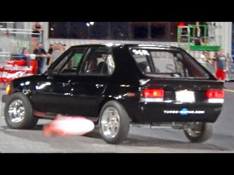 Turbo Dodge Omni GLH 5-Speed RECORD! 9.99 @ 143 MPH!