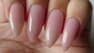How to make a Pink Gel Overlay | Nailsofnorway