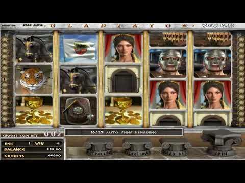 Обзор игрового автомата Gladiator на сайте SlotsW