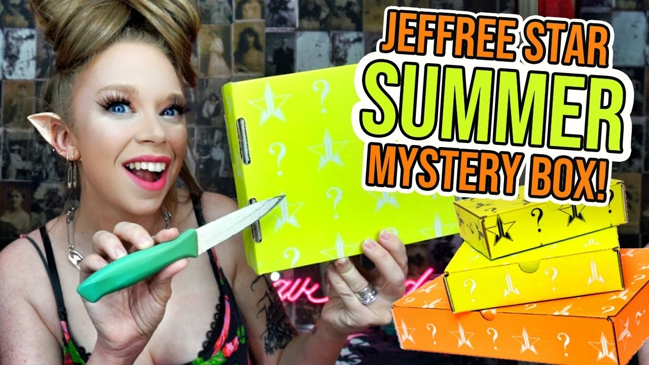 Jeffree Star Cosmetics *PREMIUM* Summer Mystery Box Unboxing!