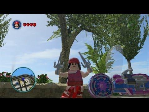 LEGO Marvel Super Heroes - Unlocking Elektra + Free Roam ...