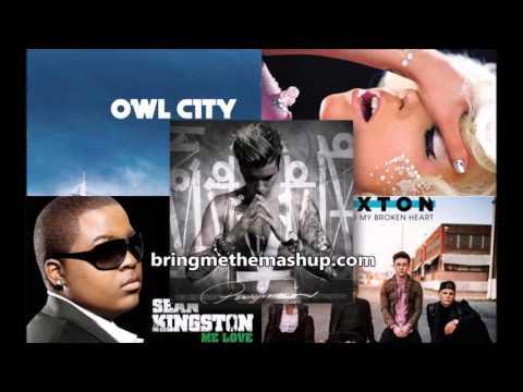 Justin Bieber  Sorry Mashup 5 Songs  ft Lady Gaga, Owl City, Sean Kingston & Rixton