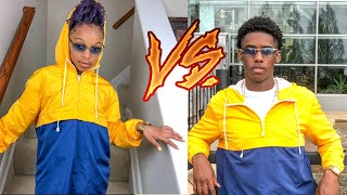 Download WEARING MY BIG BROTHERS CLOTHES!!! I WORE IT BETTER!!! Mp3 and Videos
