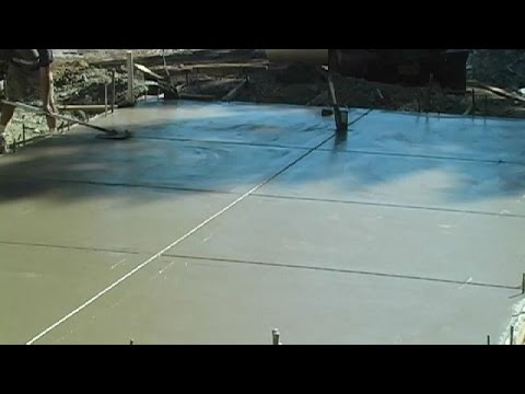 Concrete slabs have a tendency to crack