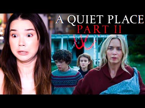A QUIET PLACE PART II | Superbowl TV Spot & Featurette | Emily Blunt | Reaction!