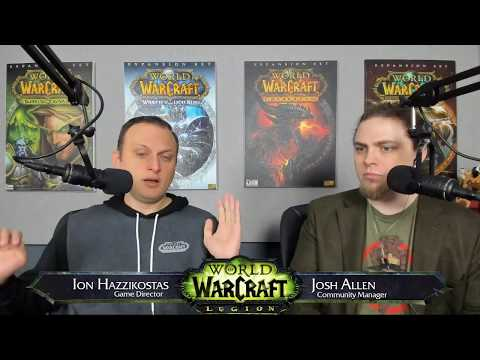 Live Developer Q&A with Ion Hazzikostas 11/16/2017