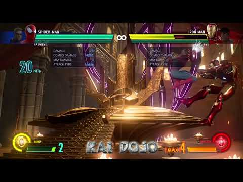 With Great Power: Spider Man MvCi BnB Combo