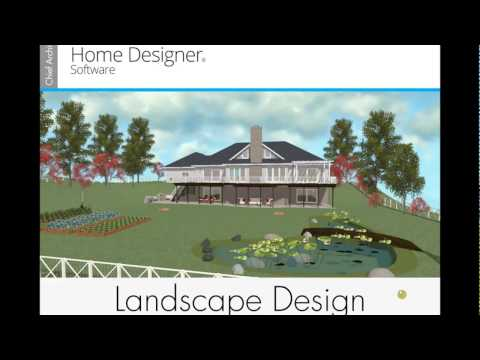 Home Designer 2018 Landscape Webinar