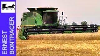 John Deere 9610 Wheat Harvest