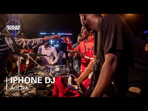 IPhone DJ   Boiler Room X Ballantine's True Music Ghana
