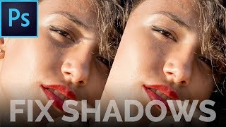 How to Fix Shadows From Portraits in Photoshop | Advanced Technique