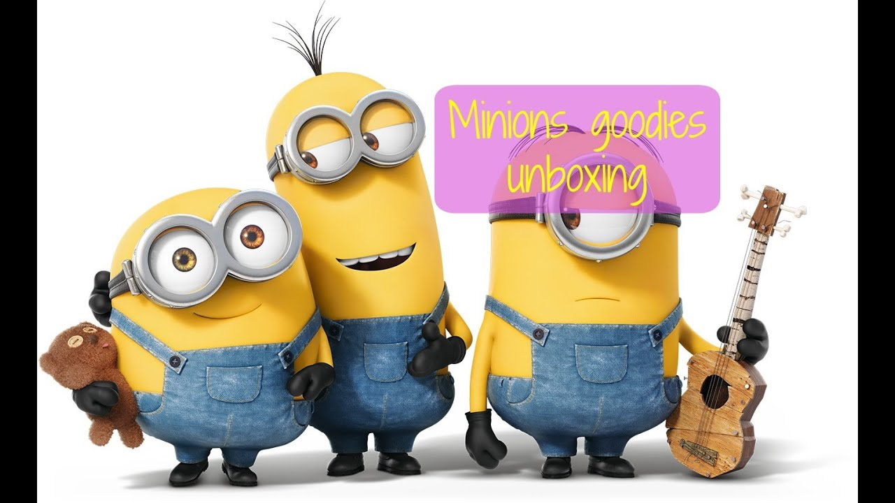 Minions Goodies Unboxing   YouTube