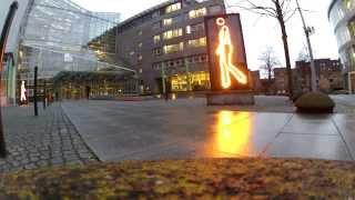 Läuft und läuft 1  LED Kunst Düsseldorf Wersten GoPro Hero Black Edition