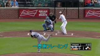 【MLB】21世紀最高の名手 レジェンド・モリーナのフレーミング thumbnail