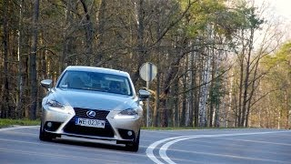 (ENG) 2013 Lexus IS 300h - Test Drive and Review