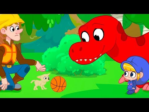 standing-up-to-bullies-|-my-red-t-rex-|-kids-cartoon-|-mila-and-morphle-official