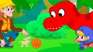 Standing Up To Bullies   My Red T-Rex   Kids Cartoon   Mila and Morphle  Official