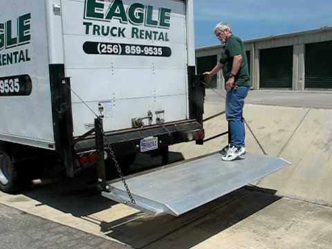Eagle Truck Rental Lift Gate Youtube