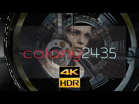 Colony 2435 | 4KHDR10 #Mars&Beyond