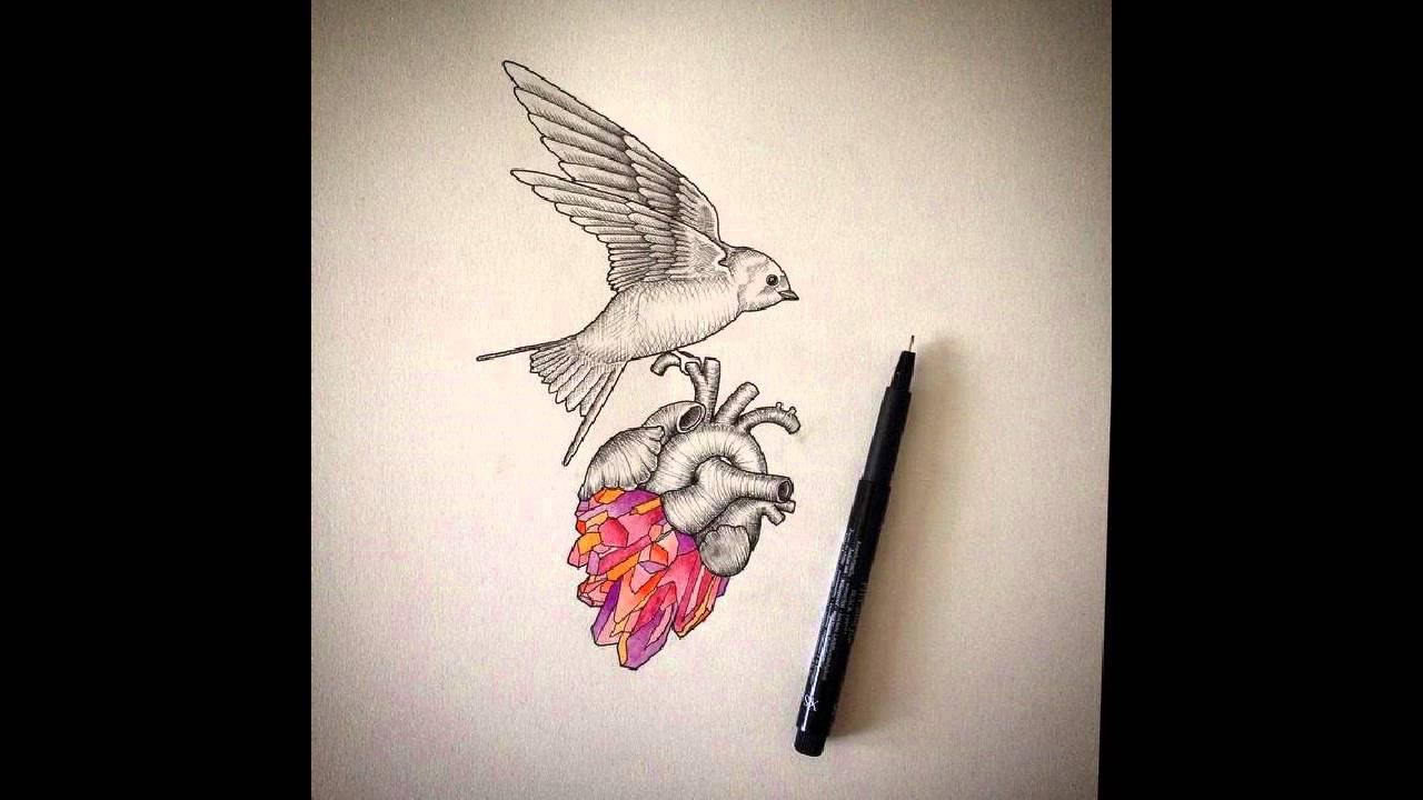 35 Sensitive Anatomical Heart Tattoo Designs - YouTube