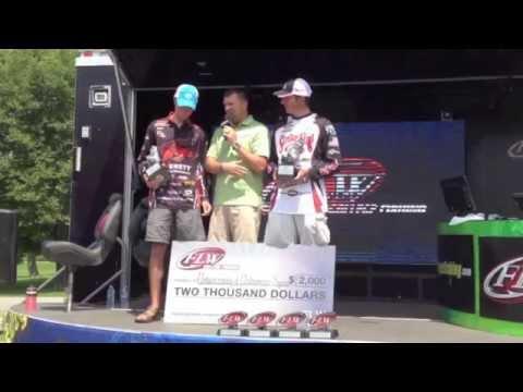 Winning flw college bass fishing lake dardanelle 7 26 14 for Lake dardanelle fishing report