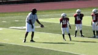 Minor football injury