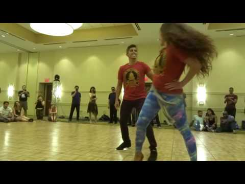 Washington DC Zouk Festival 2016 Tirso & Chanel - Hips and Dips class demo
