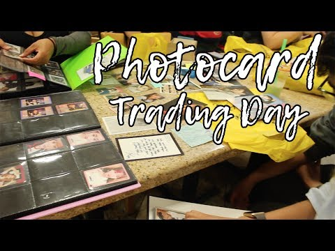 Photocard Trading Event! | Vlog