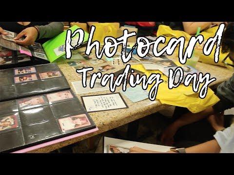 Photocard Trading Event! | Vlog