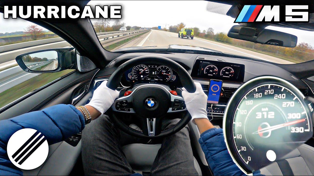 1000HP BMW M5 HURRICANE *PROTOTYPE* TEST DRIVE ON GERMAN AUTOBAHN