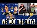 أغنية WE GOT THE FIFA 18 TEAM OF THE YEAR!