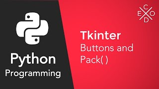Python and Tkinter: Adding Buttons and the Pack Method