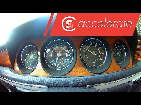 BMW E9 3.0 CSI - Acceleration | 0-100 and 80-120