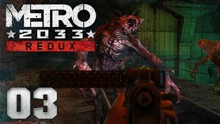🔥 METRO 2033 REDUX [003] [Dunkle Gänge & brutale Gefechte!] Let's Play Gameplay Deutsch German thumbnail