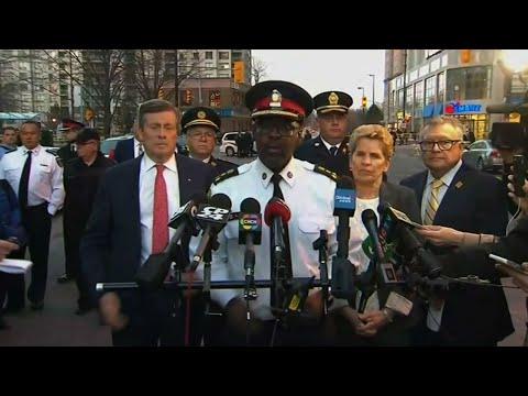Police Name Man Arrested in Canada Van Crash