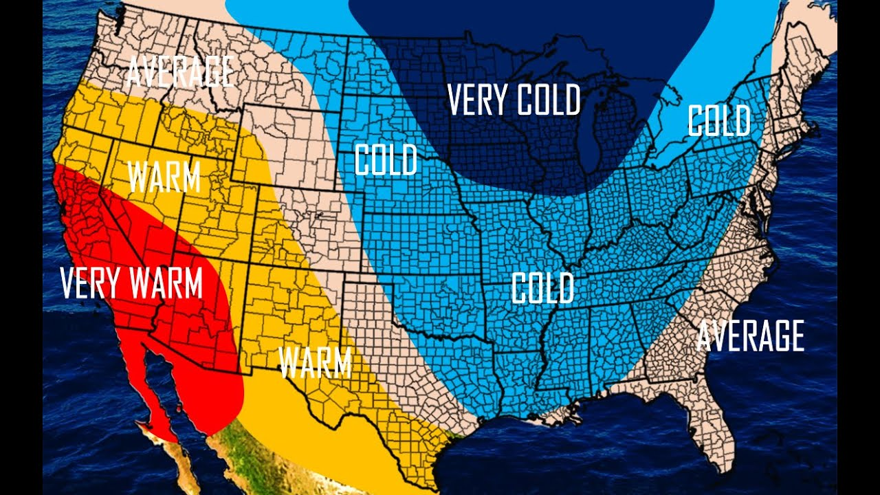 Preliminary Winter Forecast YouTube - Us winter forecast map