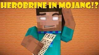 If Herobrine Worked For Mojang - Minecraft