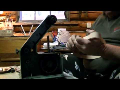 Harbor Freight Belt Sander, Knife Sharpener Product Review