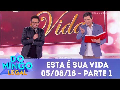 Esta É Sua Vida Matheus Ceará - Parte 1   Domingo Legal (05/08/18)