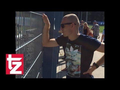Das machte FCB-Star Arjen Robben bei den Löwen - Roter Besuch bei den Blauen